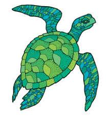 sea turtle royalty free vector image vectorstock