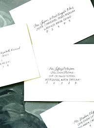 wedding invitations return address proper way to write return address on wedding invitations