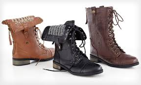 womens combat style boots target carrini s vegan combat boots 29 shipped from groupon the