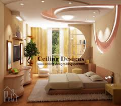 Ceiling Decoration Ideas Amazing Gypsum Bedroom Ceiling Designs With Coffered Strech Pink