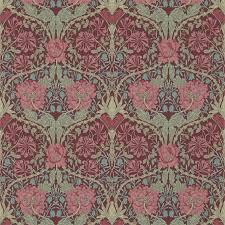 buy william morris and co 214703 honeysuckle u0026 tulip wallpaper