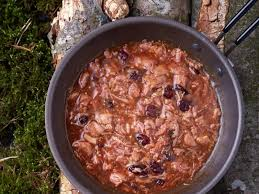 turkey with cranberry gravy backpacking meals trail recipes