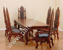 indian wood dining table wooden dining set wooden carved dining table wooden carved dining