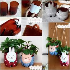 Diy Plastic Bottle Vase Diy Plastic Bottle Plant Pot Diy Projects Usefuldiy Com