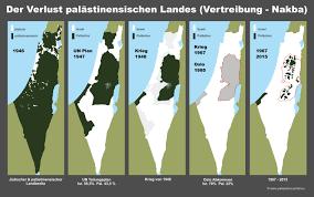 Israel Map 1948 Karten Zum Nahostkonflikt Palästina Israel