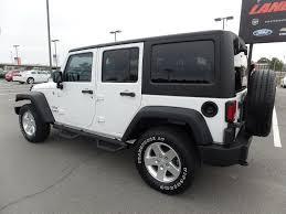 used jeep wrangler rubicon 2013 used jeep wrangler unlimited 4wd 4dr sport at landers