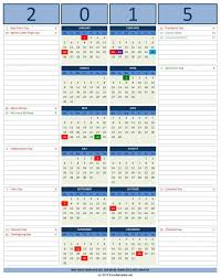 Office Excel Templates 2016 Calendars Excel Templates Microsoft Office Free 2015 Calendar