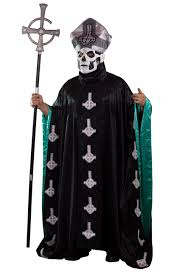 Devils Rejects Halloween Costumes Ghost Papa Ii Robe Costume