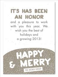 Business Holiday Card Winter Sprinkles Plantable Corporate Holiday Cards Business