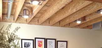 Unfinished Basement Ideas On A Budget Ceiling Low Basement Ceiling Options How To Make An Unfinished
