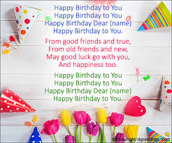 Happy Birthday Wishes In Songs Birthday Song Happy Birthday Cards Pinterest Birthday Songs