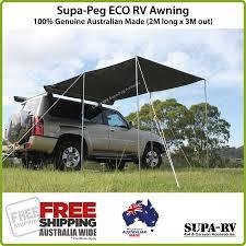 Rv Awnings Australia 4x4 Vehicle Side Awning 2m X 3m Supa Peg Eco Rv 4wd Car Horse