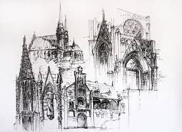 gothic architecture drawing new on custom gothic architecture drawing new in trend