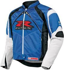 gsxr riding jacket icon contra gsxr mens textile jacket blue