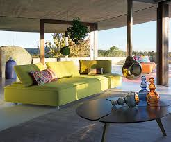 sleek and modern indoor outdoor escapade sofa by roche bobois