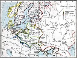 Baltic States Map Maps Of The Baltic Lands 1000 A D 1809 A D Perry Castañeda