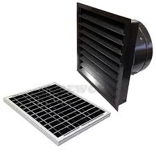 wall mount whole house fan 20 watt solar attic fan wall mount