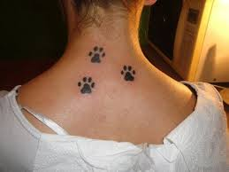 small paw print tattoo tattoo collections
