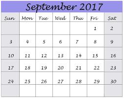 printable calendar page november 2017 september 2017 calendar template format download â free printable