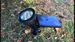 Solar Sign Lights Outdoor by Inarock 2 In 1 Solar Powered Led Outdoor Garden Spotlight