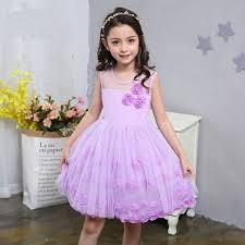online get cheap kids purple dress aliexpress com alibaba group