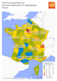Alsace Lorraine Map Map Of The Month Gfk Purchasing Power For Consumer Electronics