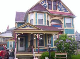 painted houses inspire home design