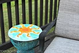 concrete outdoor side table diy concrete side table top hometalk