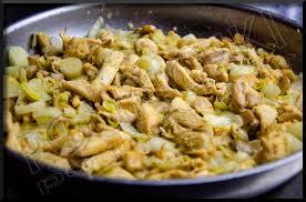 cuisiner des endives poêlée d endives au poulet et chignons pounchki