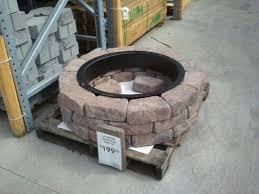 brick fire pit kit outdoor goods