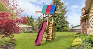 Big Backyard Playsets by Extreme Space Saver Kid U0027s Wooden Swingsets Playmor Swingsets