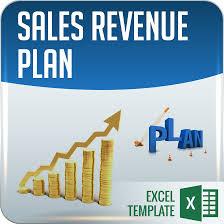 sales revenue plan budget templates excel 101 business insights