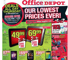 black friday office depot black friday 2013 android deals part two radioshack sears