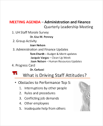staff meeting minutes template u2013 6 free sample example