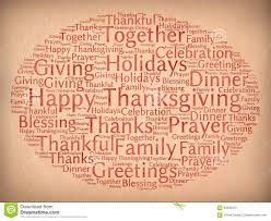 words that relate to thanksgiving happy thanksgiving stock illustration image 60592915