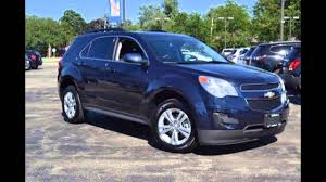 2015 Chevrolet Equinox Blue Velvet Metallic Youtube