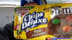 reed reviews keebler chips deluxe triple chocolate cookies with