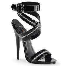 high heels designer did pleaser s domina zipper shoes inspire these designer high