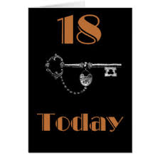 daughters 18th birthday greeting cards zazzle