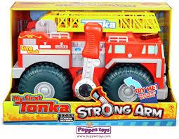 tonka fire truck toy my first strong arm fire truck tonka juguetes puppen toys