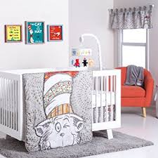 Cat In The Hat Crib Bedding Set Trend Lab Dr Seuss Peek A Boo Cat In The Hat 4