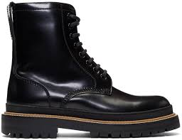 stylish motorcycle boots designer boots for men ssense