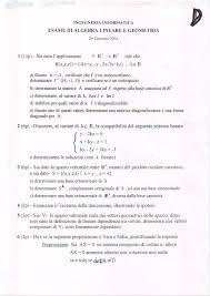 dispense algebra lineare index of dispense murciano compiti algebra lineare e discreta
