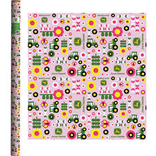 deere wrapping paper deere pink wrapping paper lp51678