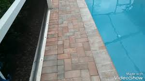 stripping off failed paver sealer paver sealant youtube