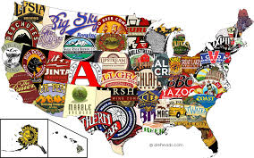 Seattle Brewery Map by The Best Beer By State Aleheads