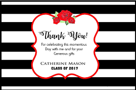 graduation party invitation graduation thank you cards college