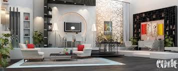 Grey And Black Living Room Interior Design Ideas - Interior design photos living room