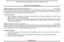 Sample Resume For Child Care by Resume Templates For Kids Child Care Provider Resume Template
