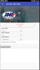 Cek Resi Jne Cek Resi Jne Kurir Android Apps On Play